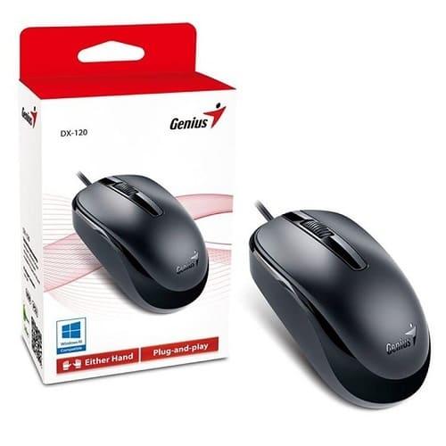 img producto Mouse USB DX-120 Black GENIUS
