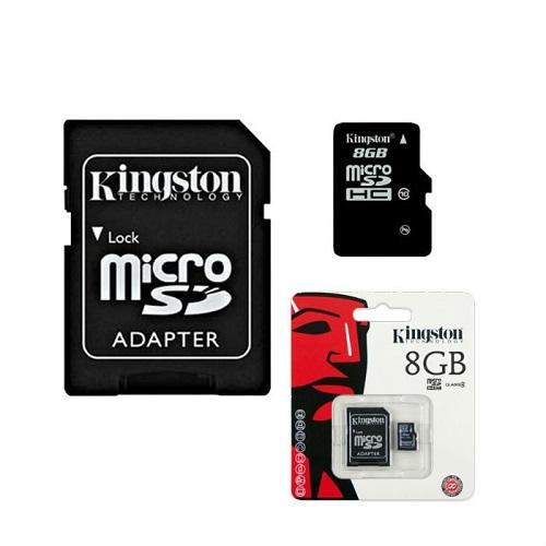 producto relacionado MEMORIA 8GB MICRO SD CL4 KINGSTON