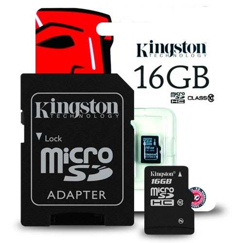 producto relacionado MEMORIA 16GB MICRO SD CL10 KINGSTON