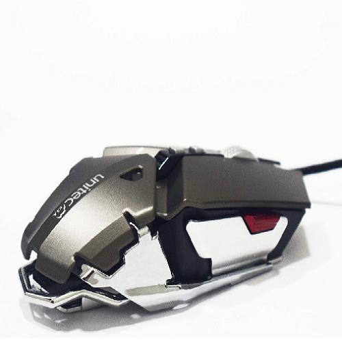 producto relacionado Nuevo Mouse Gamer Metálico Ajustable Iluminado Unitec M-0803